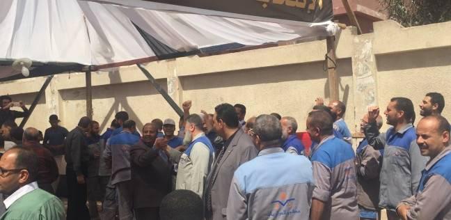 تشديدات أمنية بلجنة مدرسة سعد زغلول بحلوان وتوافد العشرات من الناخبين