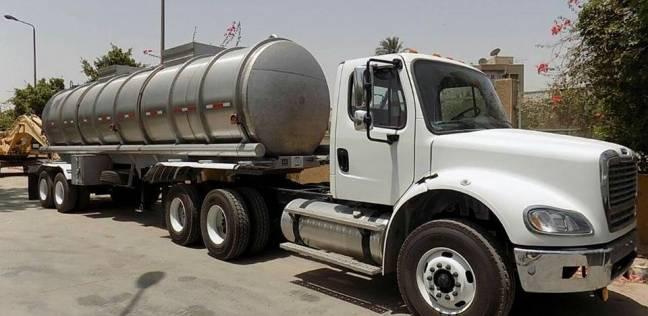 5 سيارات نقل مياه شرب لخدمة المناطق المحرومة في الوادي الجديد