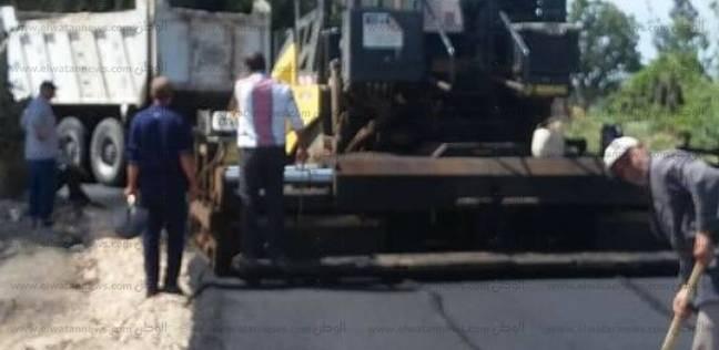 """محافظ سوهاج: رصف طريق """"التحرير - الأربعين"""" بطما"""