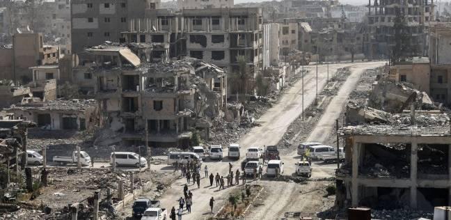 """مصرع 14 شخصا بانفجار ألغام من مخلفات """"داعش"""" بالرقة السورية"""
