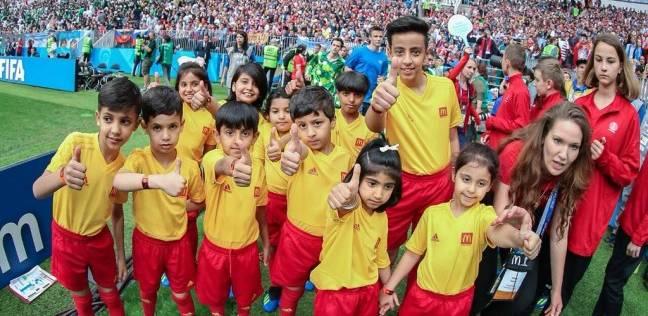أبناء الشهداء مع المنتخب السعودي