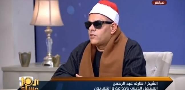 بالفيديو  مبتهل أنشد لمحمد صلاح: