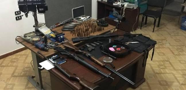 حبس المتهمة بتصنيع أسلحة خرطوش في السويس