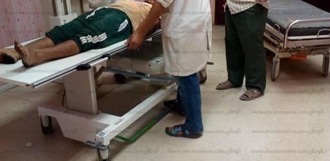 """وكيل """"صحة البحر الأحمر"""" تتابع المصابين في حادث أتوبيس الزعفرانة"""