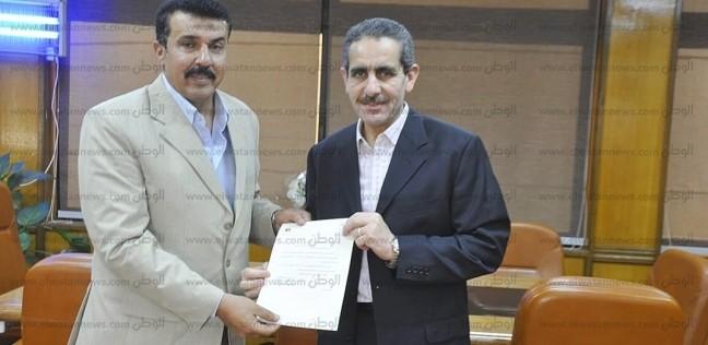 المحافظات   رئيس جامعة القناة يستقبل عميد كلية التربية الرياضية الجديد