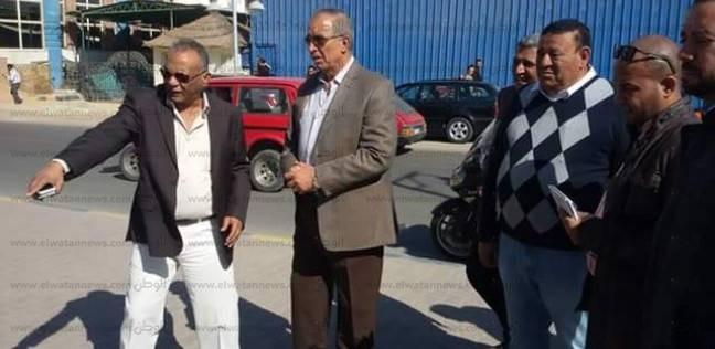 محافظ البحر الاحمر يتفقد الحالة الأمنية بمدينة الغردقة