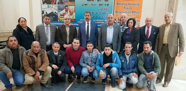 """""""الوطنية للخدمات"""" تكرم موظفيها منقذي المواطنين في """"حريق محطة مصر"""""""
