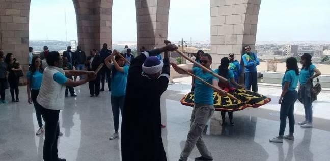 فرقتا الإسكندرية والأقصر للفنون يقدمان عروض فنية بمتحف النيل بأسوان