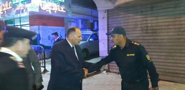 """مدير أمن الجيزة داعيا المواطنين للمشاركة في الانتخابات: """"خير لأحفادنا"""""""