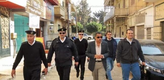 بالصور| مدير أمن الإسماعيلية يتفقد الحالة الأمنية بالمدينة