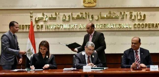 """وزير الكهرباء يشيد بجهود 3 وزارات و""""المركزي"""" لإنجاح المشاريع الجديدة"""