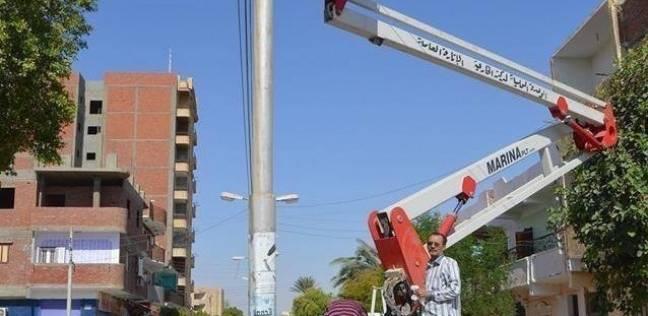 تكثيف حملات إزالة سرقات التيار بجمرك الإسكندرية