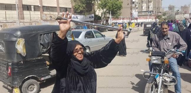 """على أنغام """"قالوا إيه"""".. ناخبوا كرداسة: """"مصر أهم من أكل العيش"""""""
