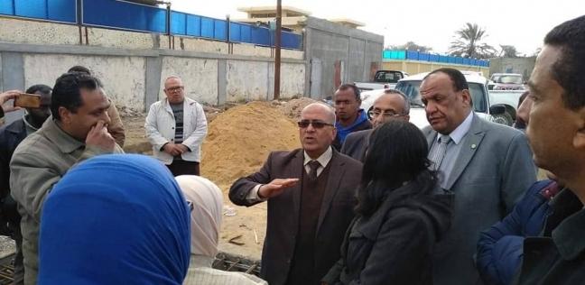 """""""مياه الشرب"""" بالإسكندرية تشن حملات لمتابعة أعمال تنفيذ خط 500 مم"""