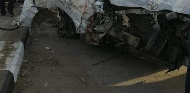 ارتفاع عدد ضحايا حادث الطريق الدولي بالبحيرة لـ11 شخصا