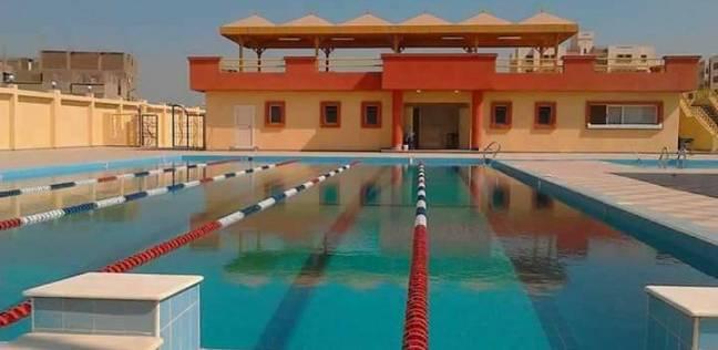 بدء الموسم الصيفي بمجمع حمامات السباحة بالاستاد الرياضي بسوهاج
