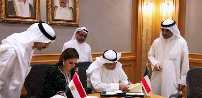 """نصر توقع اتفاقيتين مع """"الكويتي للتنمية"""" لدعم مشروعات بشمال سيناء"""