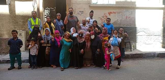 أعضاء جمعية قصار القامة فى الإسكندرية