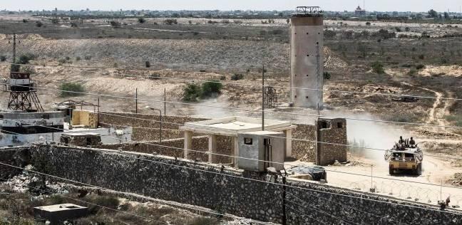 استنفار أمنى على الحدود مع غزة وضبط «متسللين» حاولا دخول سيناء