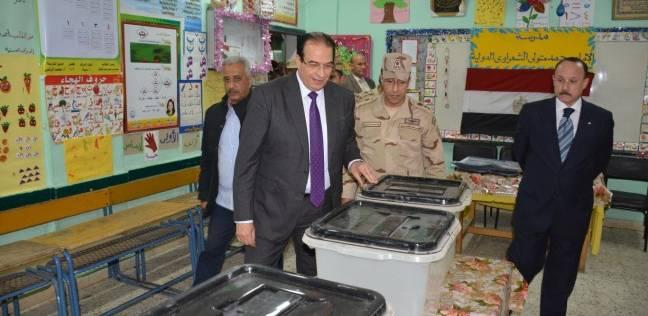 محافظ الدقهلية يتفقد المقار واللجان الانتخابية وغرفة العمليات الرئيسية
