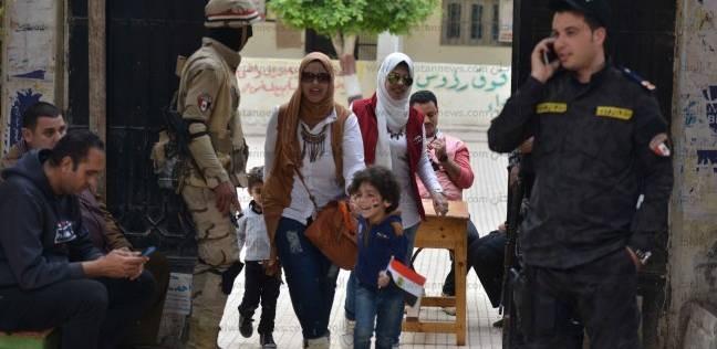 مدير أمن القاهرة يتفقد تأمين لجان مدينة نصر