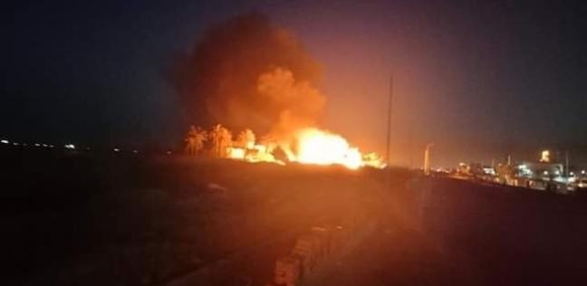 العرب و العالم   حريق جزئي بمحطة تحويل كهرباء بالرياض في السعودية