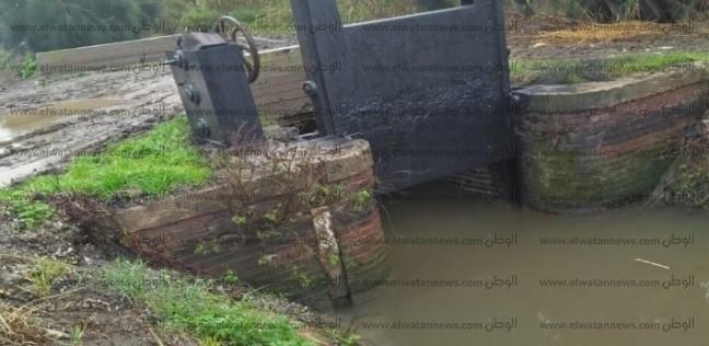 بالصور| تنفيذ بعض مشروعات الري بـ19 مليون جنيه في كفر الشيخ