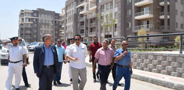 """محافظ المنيا يتفقد المرحلة الثانية من مشروع """"إسكان دار مصر"""""""