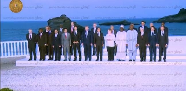 بالفيديو.. نشاط الرئيس السيسي خلال قمة مجموعة السبع G7 في فرنسا