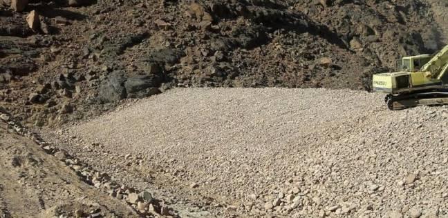 """""""المياه الجوفية"""": 50 % نسبة التنفيذ بحماية وادي الأخضر من أخطار السيول"""