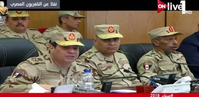 موجز 3 صباحا  السيسي: هنقضي على الإرهاب.. وحجازي: ننفذ مهام عدة