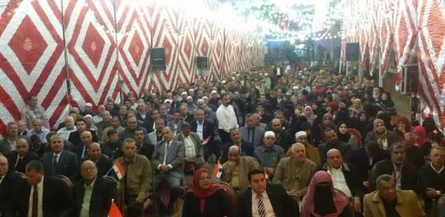 """مؤتمر جماهيري بالغربية لدعم مرشح""""مستقبل وطن"""" فى الانتخابات البرلمانية التكميلية"""