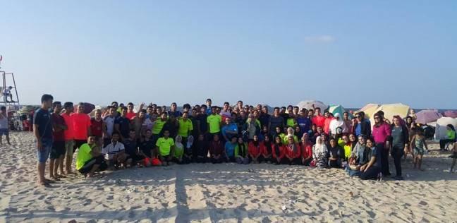 جامعة المنصورة تنظم فعاليات ملتقى الطلاب بمعسكر مدينة جمصة