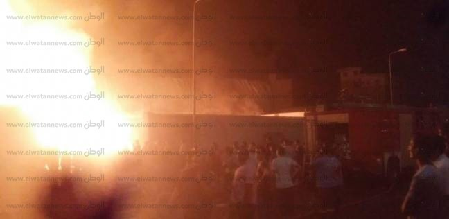 إصابة شخصين باختناق في حريق شقة بمدينة العاشر