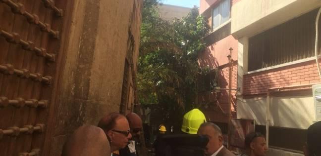 محافظ القاهرة: حريق مستشفى الحسين سببه ماس كهربائي