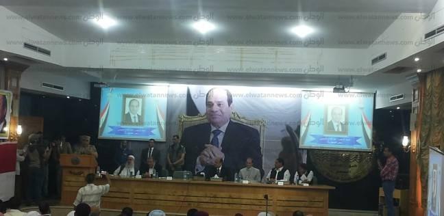 """قائد المنطقة الغربية لـ""""أهالي مطروح"""": """"أوعدكم بمنع الإرهاب المهدد لمصر من جهة ليبيا"""""""