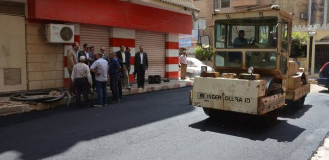 محافظ الغربية يتفقد أعمال النظافة ورصف الشوارع بمدينة طنطا