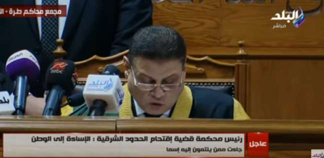 """قاضي """"التخابر مع حماس"""" مهاجما الإخوان: من أي صلب أتيتم؟"""