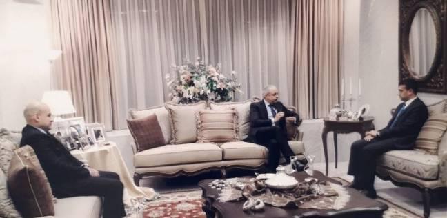 بالصور| طارق الخولي يلتقي سفير مصر باليابان