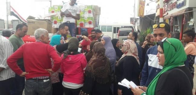 مركز شباب السويس يوزع أجهزة كهربائية على الناخبين