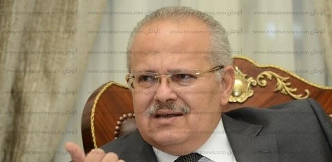 الخشت: جامعة القاهرة رقم 101 على مستوى العالم في علمي الصيدلة والأدوية