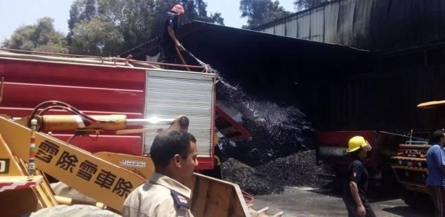 """السيطرة على حريق هائل في إحدى """"فيلات"""" منطقة المضيفة بمطروح"""