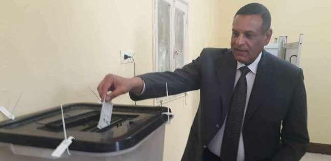 رئيس مدينة سفاجا يدلي بصوته في الانتخابات الرئاسية