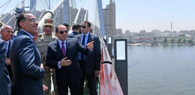 """صحف العالم تشيد بكوبري """"تحيا مصر"""": أهرامات معلقة حطمت ألأرقام القياسية"""