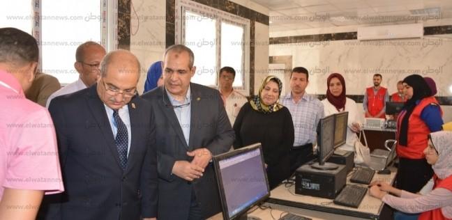 """فحص 3000 سيدة بمعهد جنوب مصر للأورام ضمن مبادرة """"صحة المرأة"""""""