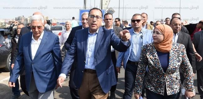 رئيس الوزراء يلتقي أعضاء مجلس النواب والقيادات التنفيذية ببورسعيد