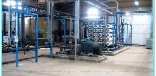 إنشاء مشروعات تحلية مياه وتوزيع بقيمة 540 مليون جنيه في البحر الأحمر