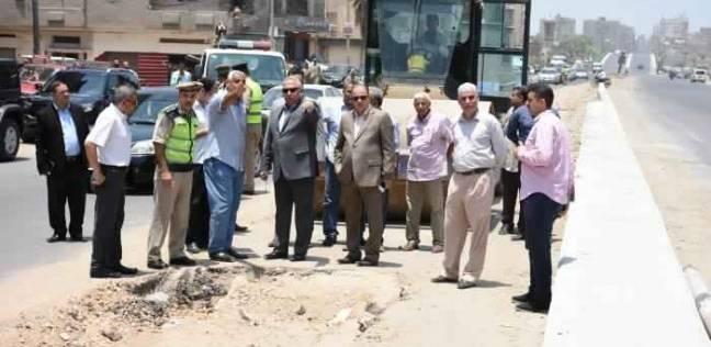 """محافظ الشرقية يأمر بإزالة الأكشاك والعشش من طريق """"الزقازيق - أبو حماد"""""""