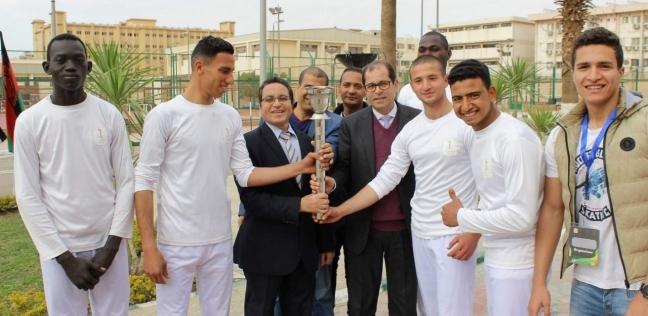 منافسات قوية في الأول لأولمبياد شباب جامعات إفريقيا بجامعة الأزهر