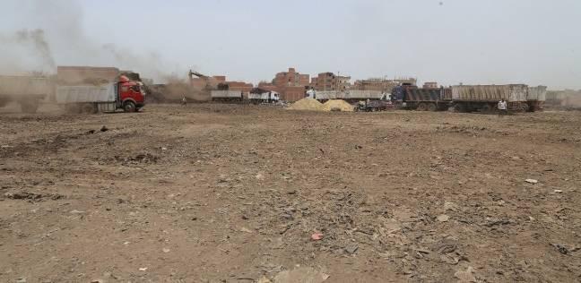 سكرتير عام المنوفية يعلن اختفاء مقلب قمامة جبل أبو خريطة